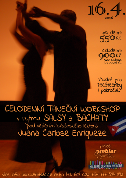 Salsa workshop s Doris